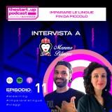 Episodio 11 | Imparare l'inglese fin da piccoli – Intervista a Mamma Bilingue