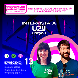 Episodio 13 | Rendere l'ecosostenibilità alla portata di tutti – Intervista ad Up2You
