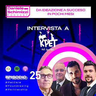 Episodio 25 | Da ideazione a successo in pochi mesi – Intervista a KPet